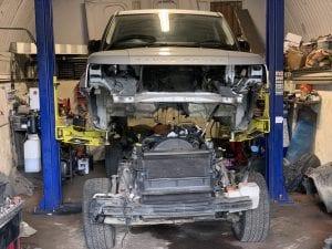 range rover sport boddu off
