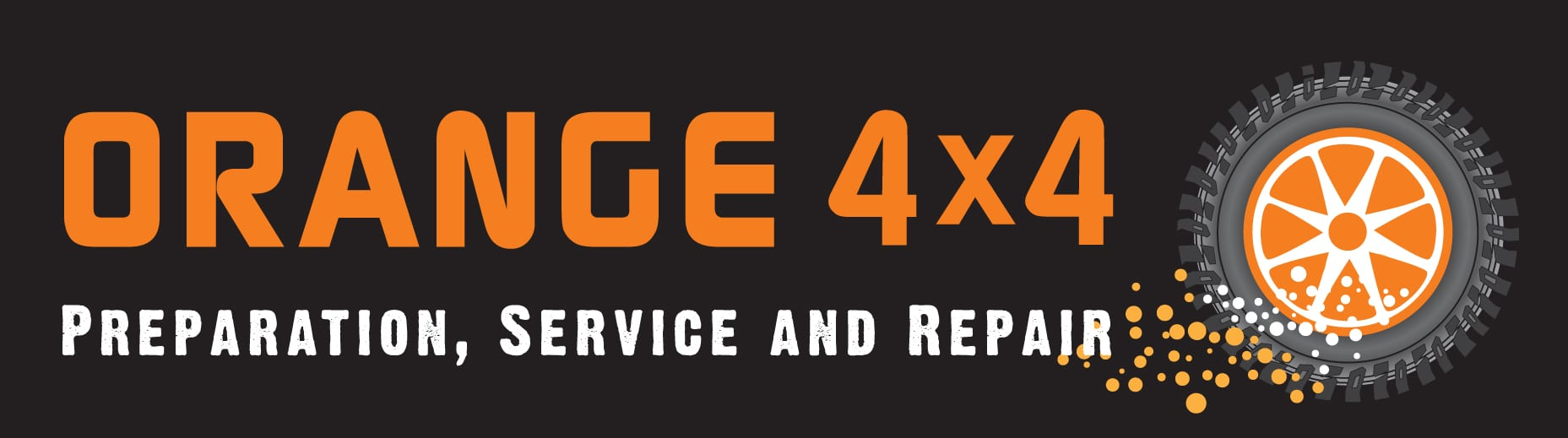 Orange 4x4